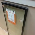 Standard glass chamber