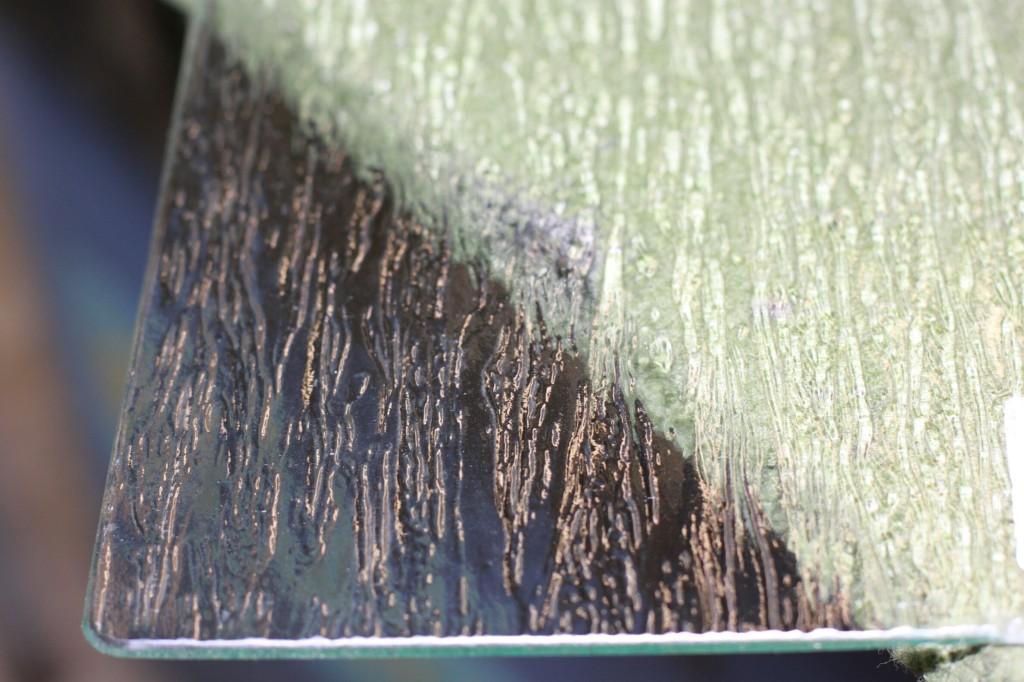 Vidrio translúcido impreso Iguazú