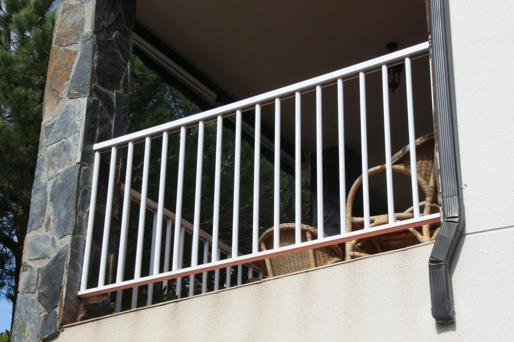 Aluminum and steel railings in Barcelona