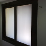 Special lacquered sliding window