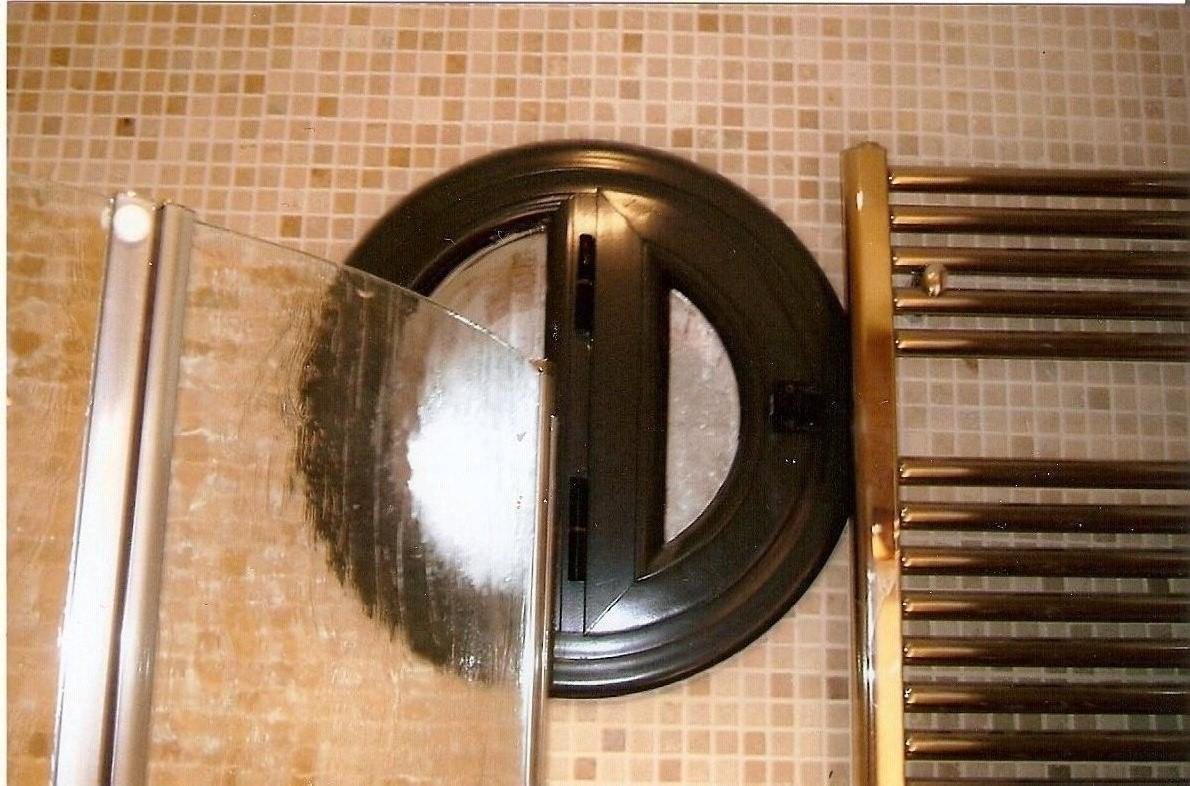 Ventana redonda tipo ojo de buey lacado ral especial con vidrio de ...