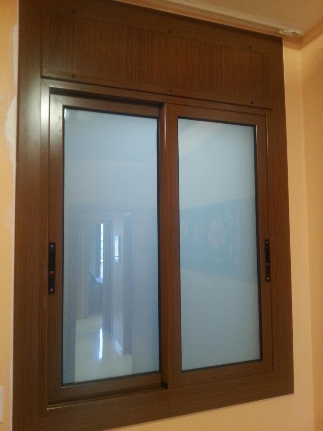 Ventanas de aluminio colores affordable champn perfil de for Colores ventanas aluminio lacado