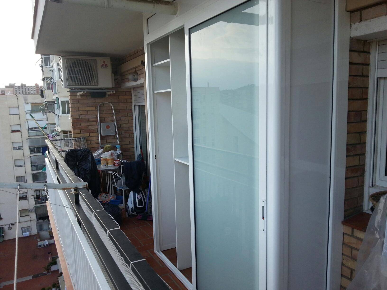 Galer a fotogr fica de carpinter a de aluminio ponsico for Armario para patio