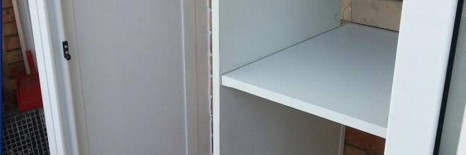 Armarios met licos de exterior tipo caseta en barcelona carpinter a de aluminio barcelona Armarios de aluminio para exterior
