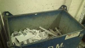 Contenedor aluminio