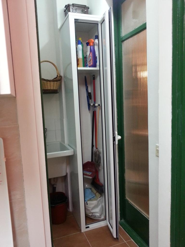 armario despensa aluminio ponsico barcelona carpinter a