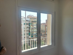 Aluminum openable window acoustic glass in Barcelona