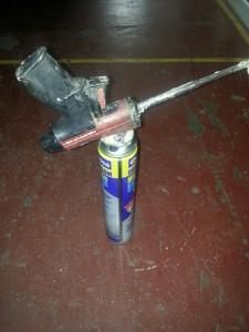 Pistola d'escuma de poliuretà