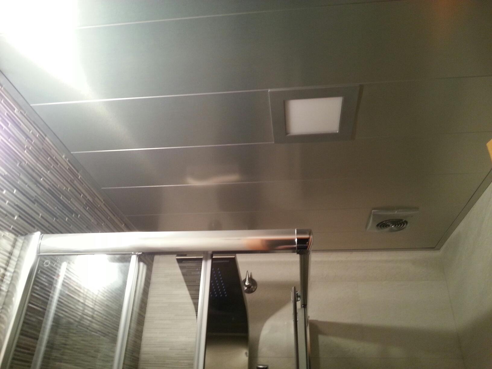 Fabricaci n venta e instalaci n de techos de aluminio en - Falso techo aluminio ...