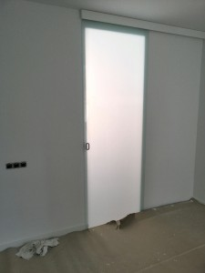 Inner glass door