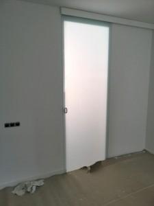 Porta de vidre d'interior