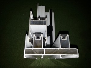 Mostra seccional marc i fulla sèrie MATRA 110 en lacat blanc
