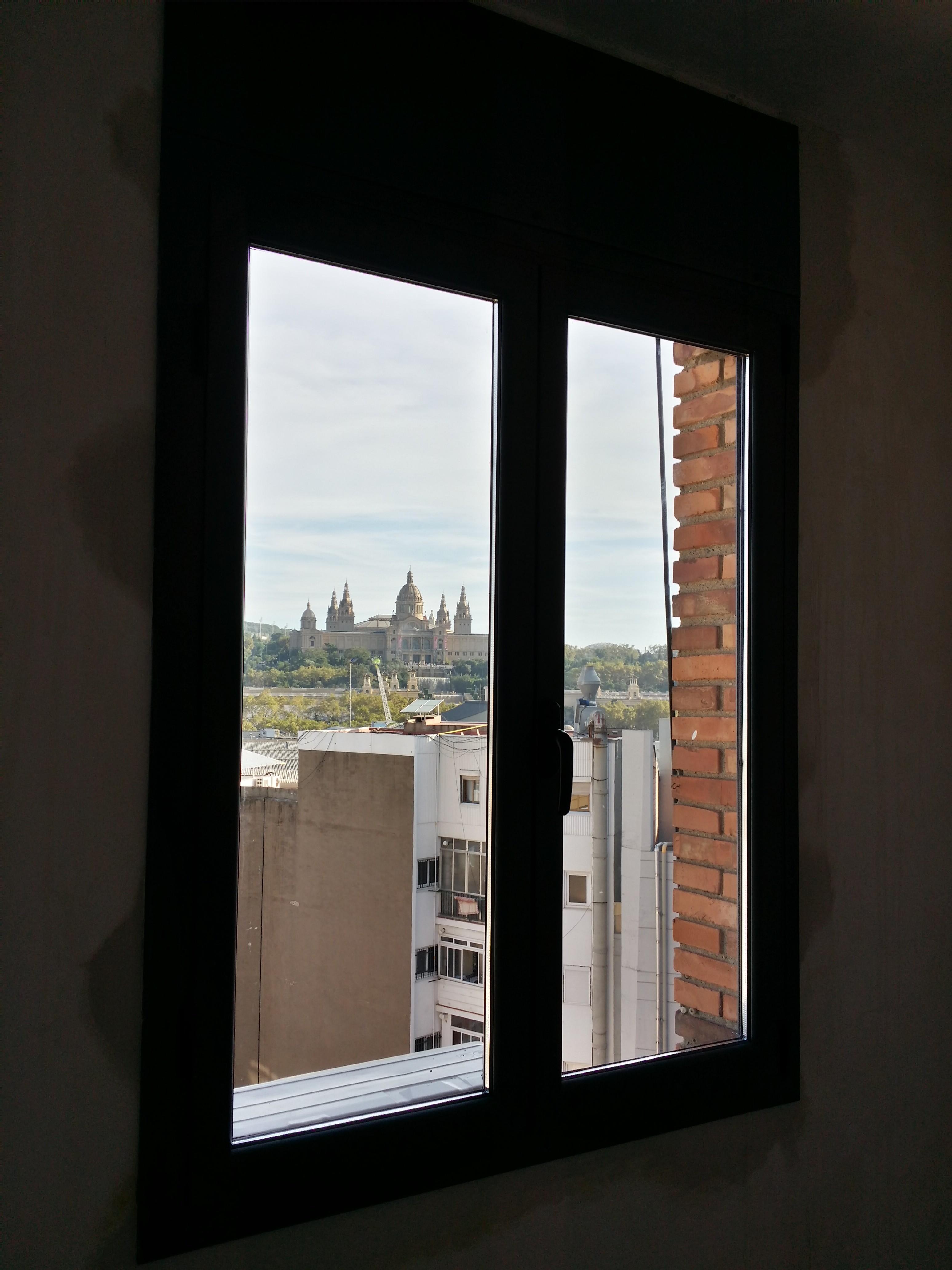 Puertas y ventanas de aluminio con rotura de puente t rmico en lacado gris antracita texturizado - Ventanas rotura puente termico ...