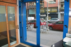 Stilo-P series practicable Door