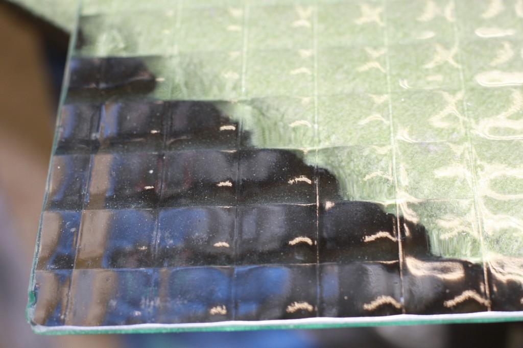 Listral 151 printed translucent glass
