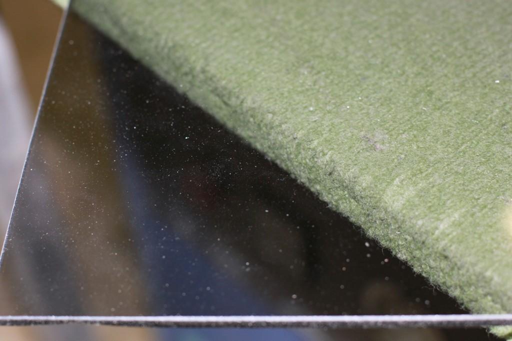 Transparent glass Parsol