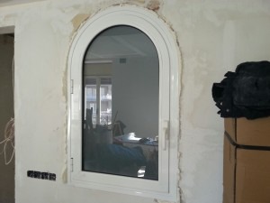 Window STILO-50 series round spot
