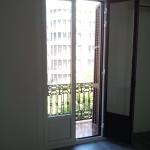 Hinged bicolor balcony door STILO-50 RPT series
