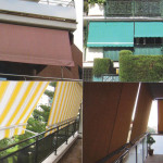 Examples of vertical awnings