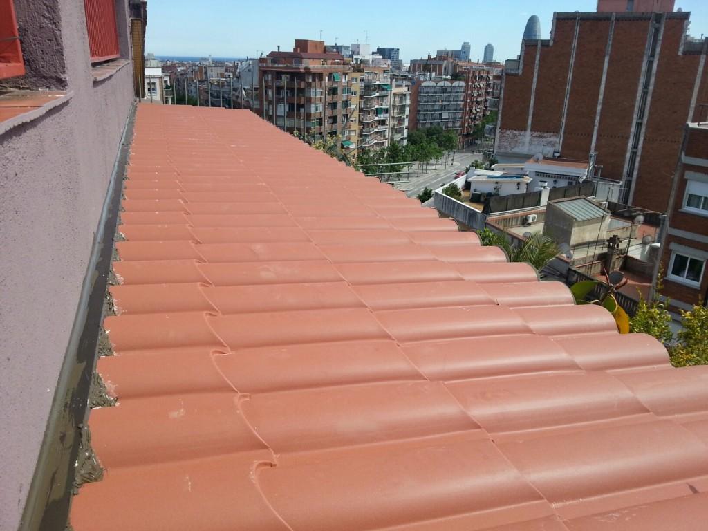 Techos y tejados de chapa en Barcelona